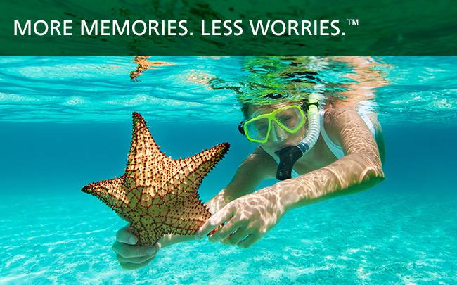 More Memories. Less Worries.™